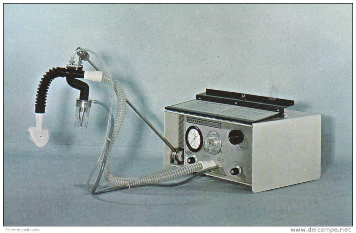 positive pressure breathing machine